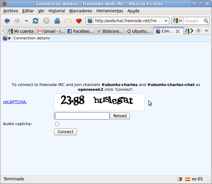 Web Chat Acceso