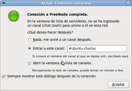 Xchat Canal 1